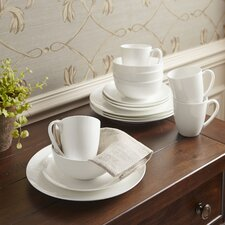 Pearl 16-Piece Coupe Dinnerware Set