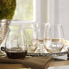 Medina Stemless Wine Glasses (Set of 4)