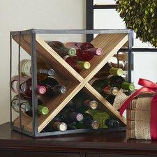 Cross Tabletop Wine Rack