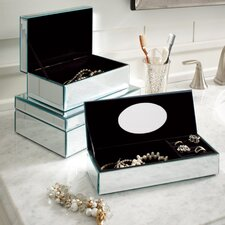 Hadleigh Mirrored Jewelry Box