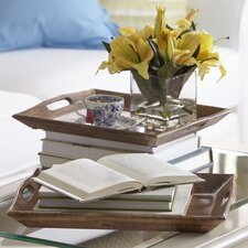 Abrams Wood Trays (Set of 2)