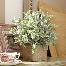 Faux Potted Sage Plant