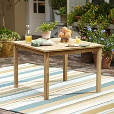 Summerton Teak Square Dining Table