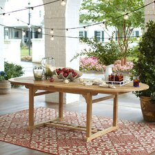 Summerton Teak Rectangular Dining Table