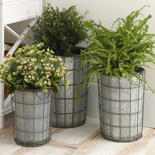 Hartman Metal Vases (Set of 3)