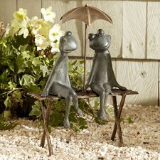 Frogs Garden Statue