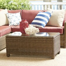 Lawson Wicker Rectangular Coffee Table
