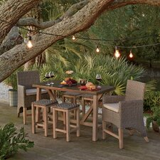 Monterey 7-Piece Counter Height Dining Set with Cushions