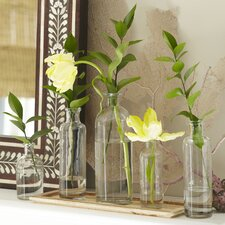 Canton 6-Piece Vase Set with Tray