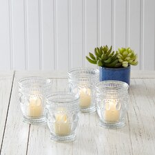 Eloise Votive Holders (Set of 4)
