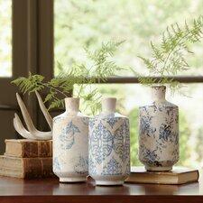 Bluestone Terracotta Vases (Set of 3)