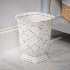 Eva Porcelain Waste Basket