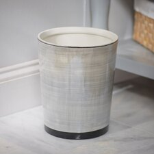 Harmon Porcelain Waste Basket