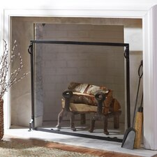 Simmons Flat Fireplace Screen