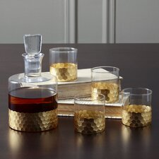 Chauncey 5-Piece Square Decanter Set