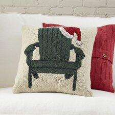 Christmas Adirondack Hooked Pillow