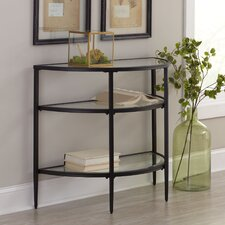 Harlan Demilune Console Table