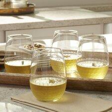 Chauncey Stemless Wine Glasses (Set of 4)