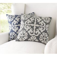 Opal Embroidered Decorative Pillow Cover