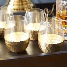Chauncey Stemless Wine Glasses (Set of 4)