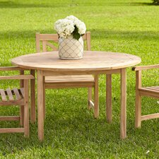 Summerton Teak Round Dining Table
