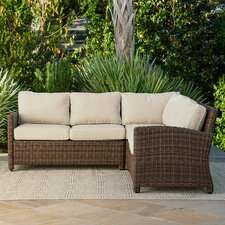 Lawson Wicker Sectional