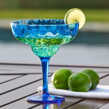 Granada Plastic Margarita Glasses (Set of 6)