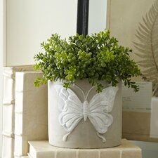 Butterfly Cement Planters (Set of 2)