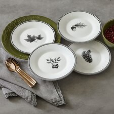 Autumn Salad Plate Set (Set of 4)