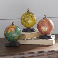Mini Globe Set (Set of 3)
