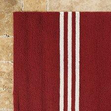 Hand-Woven Red Indoor/Outdoor Area Rug