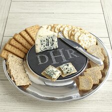 Olmsted Monogrammed Cheese Server