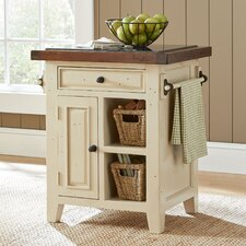 Small Kitchen Cart with Baskets