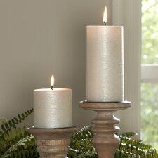 Shimmer Pillar Candle