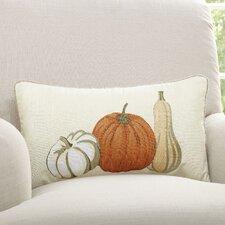 Pumpkin Trio Lumbar Pillow Cover