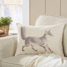 Meadow Fox Lumbar Pillow