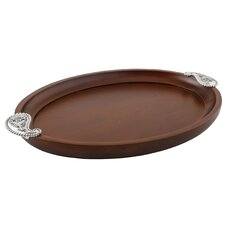 Paisley Large Serving Tray