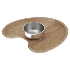2 Piece Chip and Dip Serving Dish Set
