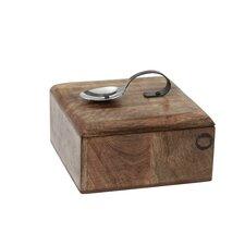 Acacia Wood Tea Caddy