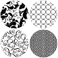It's All Black and White Coaster (Set of 4)