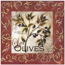 Olive Scroll Occasions Trivet