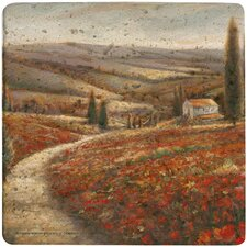 Tuscan Palette Travertine Ambiance Trivet
