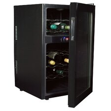 Koolatron 24 Bottle Dual Zone Freestanding Wine Refrigerator