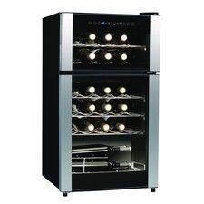 Koolatron 29 Bottle Dual Zone Freestanding Wine Refrigerator