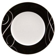 "Elegant Swirl 9"" Round Accent Plate"
