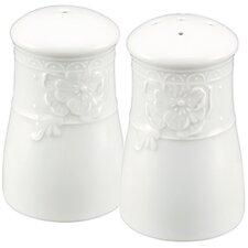 Blanc Fleur Salt and Pepper Set