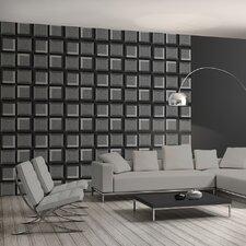 3D Squares 10.05m L x 53cm W Roll Wallpaper