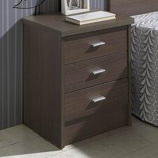 Nachttisch Dormitorios mit 3 Schubladen