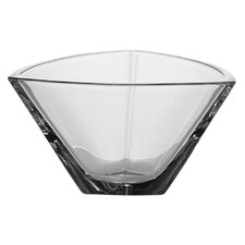 Crystalline Triangle Serving Bowl