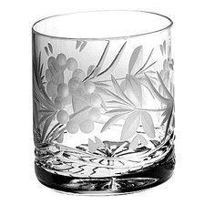 Victoria Crystal Double Old Fashioned Tumblers (Set of 4)